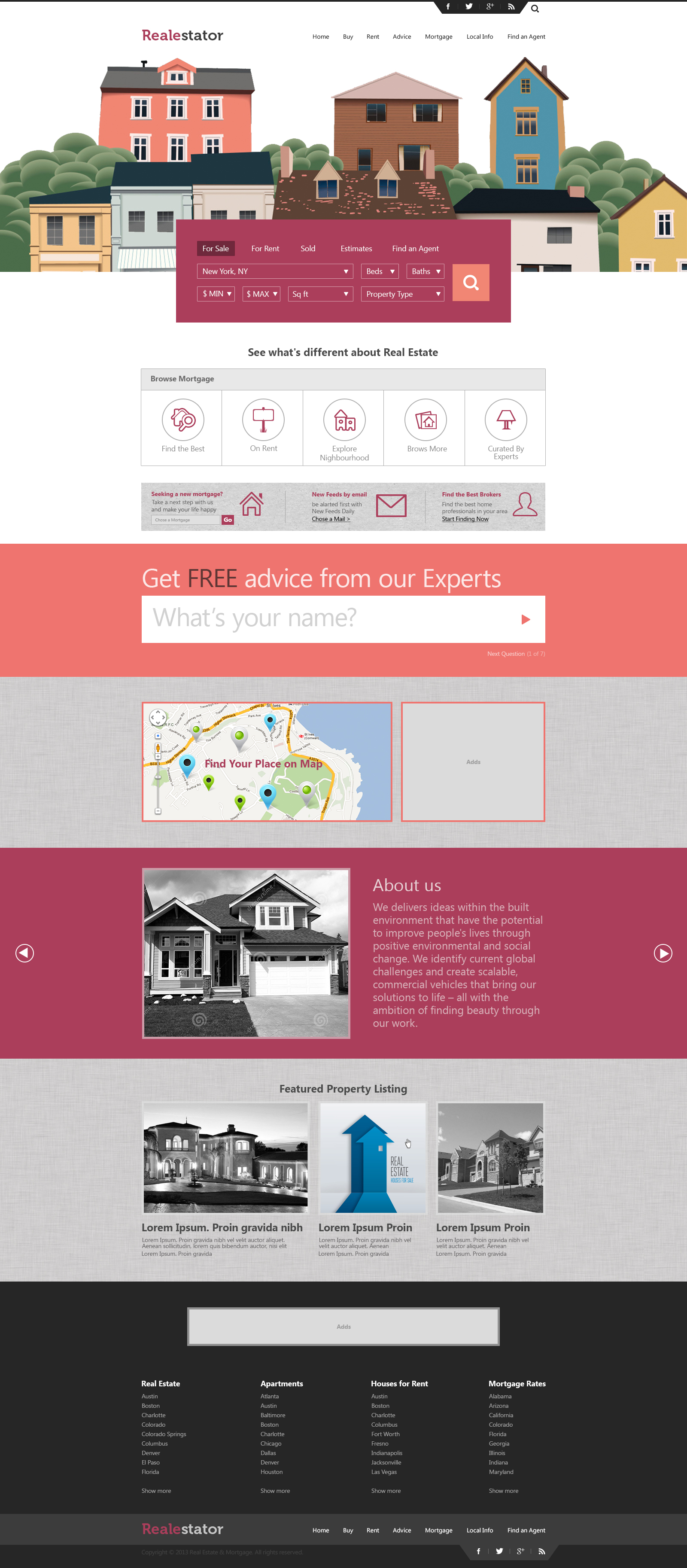 Business Page option 1